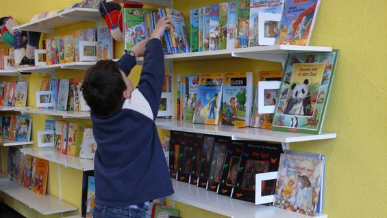 Bücherei Grundschule Olewig